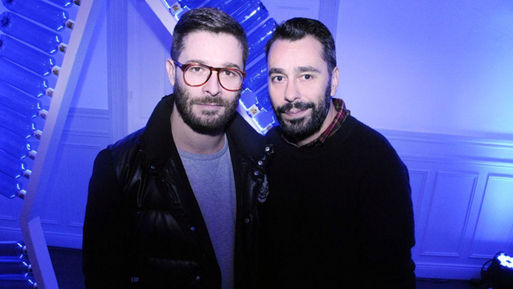 Los diseñadores Jeff Bargues y Juanjo Oliva