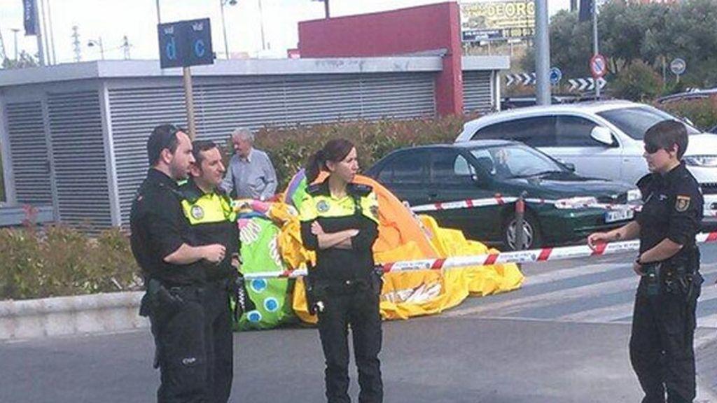 Cuatro niños heridos tras salir volando un castillo hinchable en Legánes, Madrid
