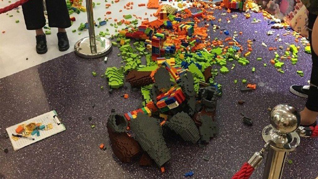 La curiosidad de un niño de 4 años destruye una figura de Lego valorada en 13.000 €