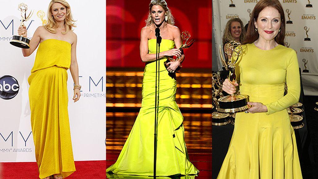 El amarillo triunfa en los premios Emmy, ¿quién dijo mala suerte?