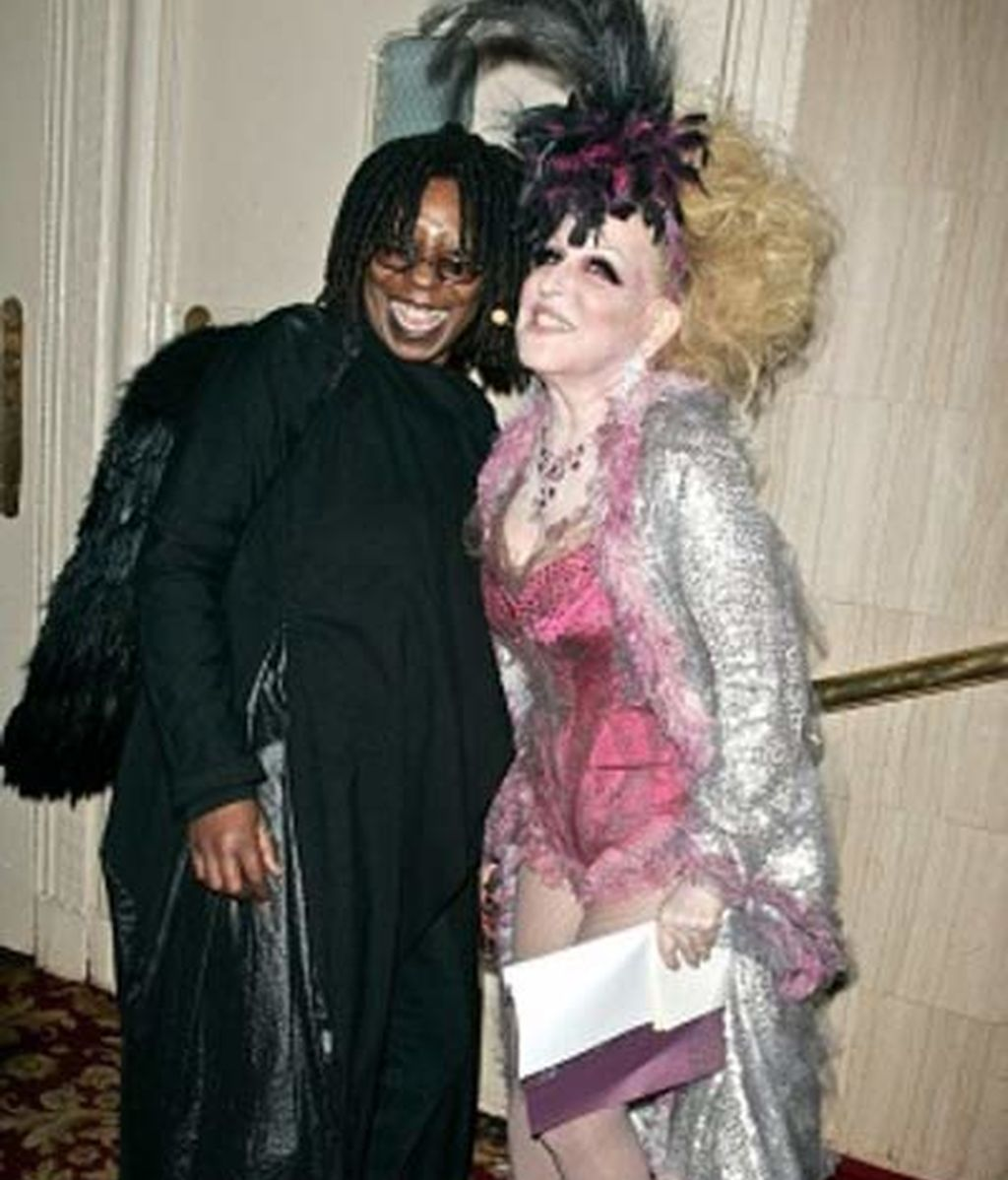 Bette Midler y Whoopi Goldberg