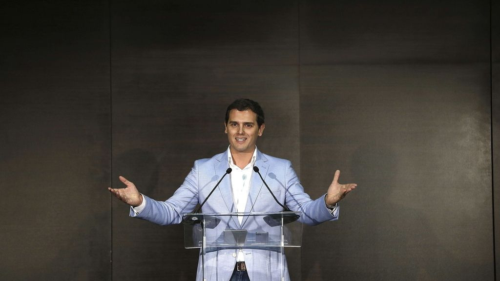 Albert Rivera presenta su candidatura a la Moncloa por Ciudadanos