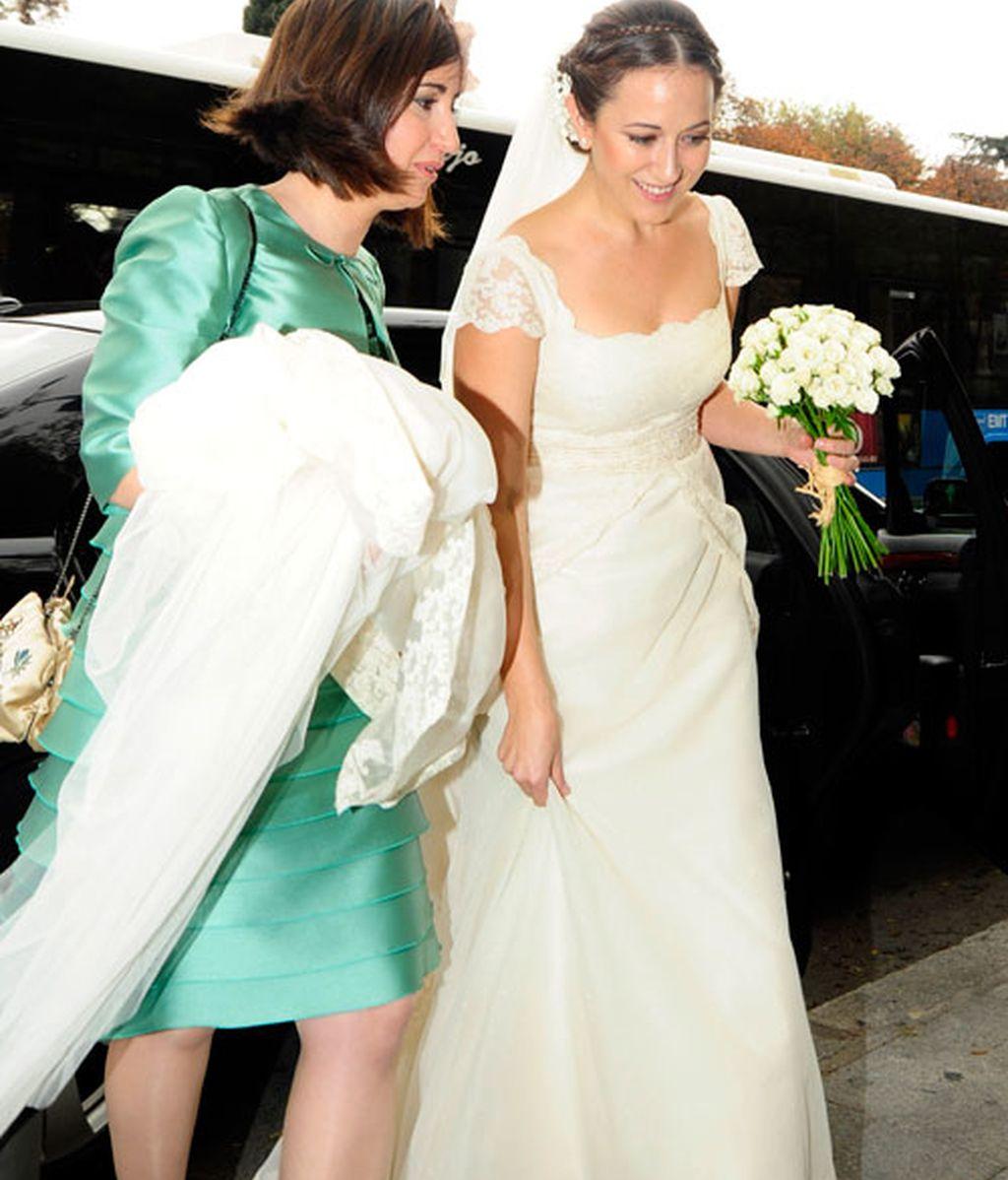 Nena Daconte se casa con el community manager del PP