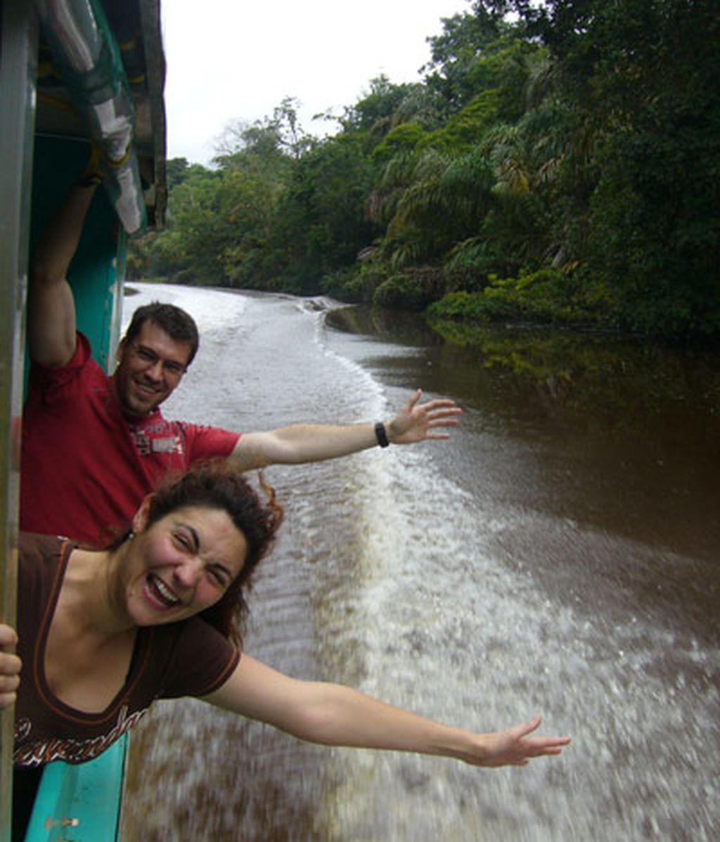 Felices en Tortuguero