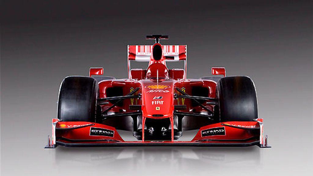 El F60, la nueva 'flecha' de Ferrari