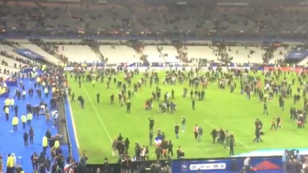 Los momentos de pánico en el Saint Denis