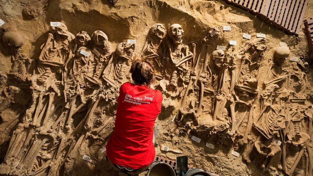 Los arqueólogos ya trabajan para hacerles la prueba del carbono