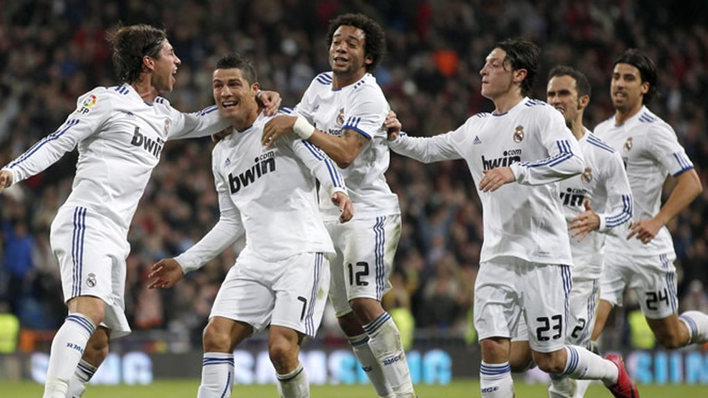 Cristiano Ronaldo, soberbio