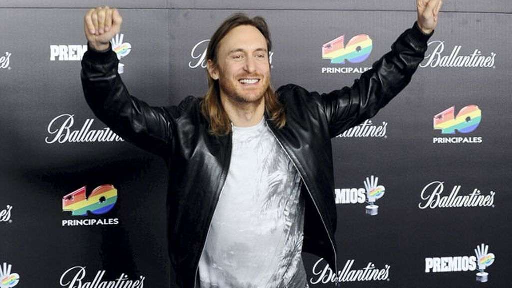 David Guetta, triunfador de la noche
