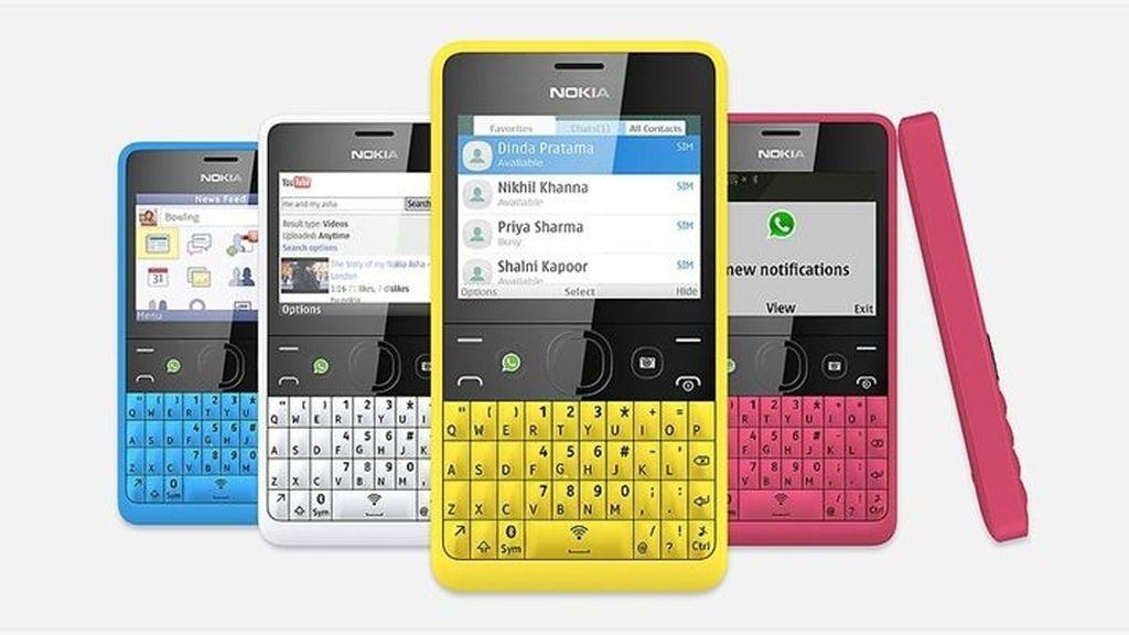 Nokia presenta su nuevo Asha 210 con un botón de acceso directo a WhatsApp