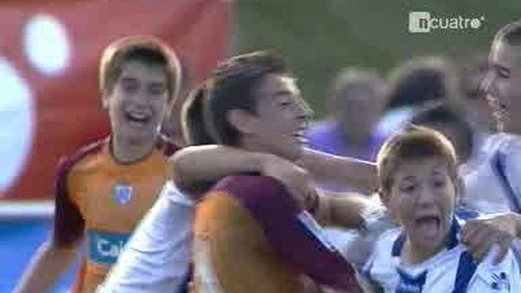 Alegrías y tristezas en los cuartos de final del campeonato alevín de fútbol 7