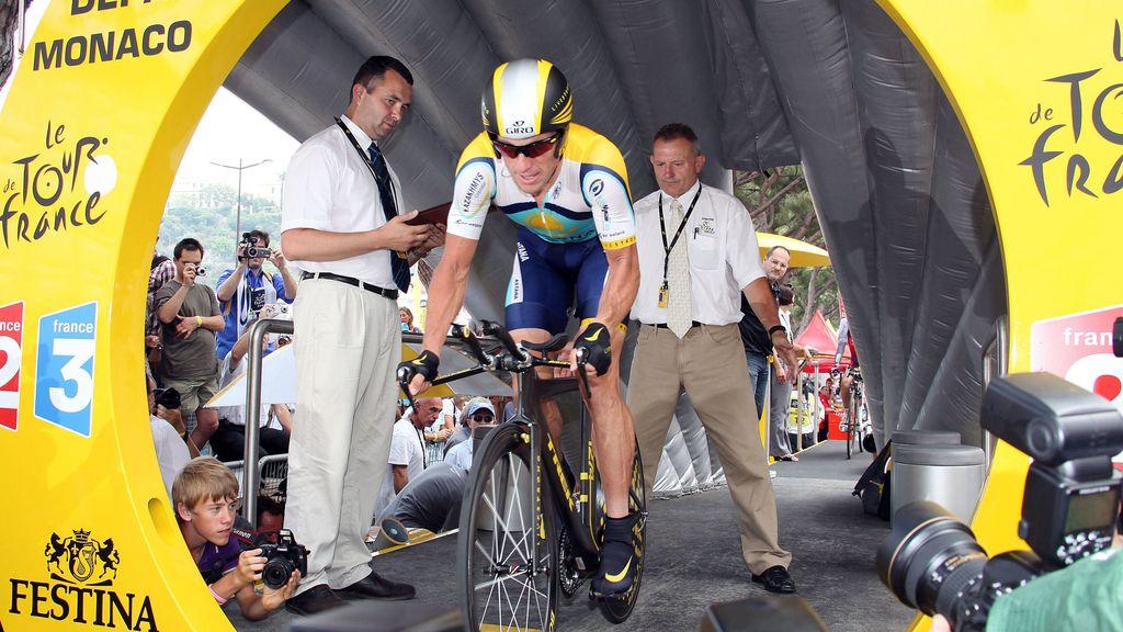 Lance Armstrong, ciclismo