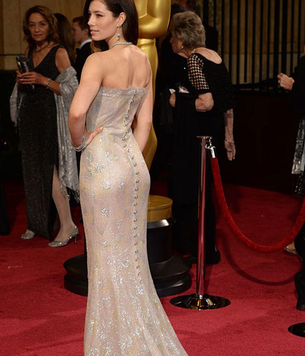 Jessica Biel de Chanel Couture