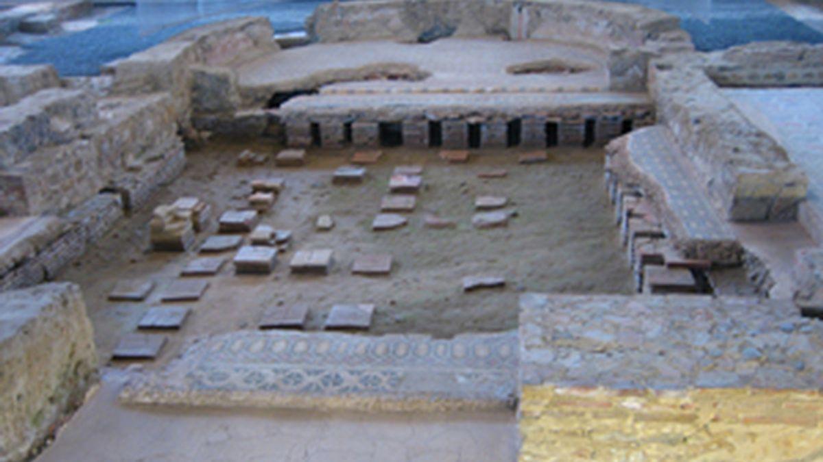 Imagen de la villa romana de La Olmeda