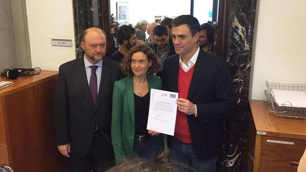 Pedro Sánchez presenta su propuesta de debatir la reforma constitucional