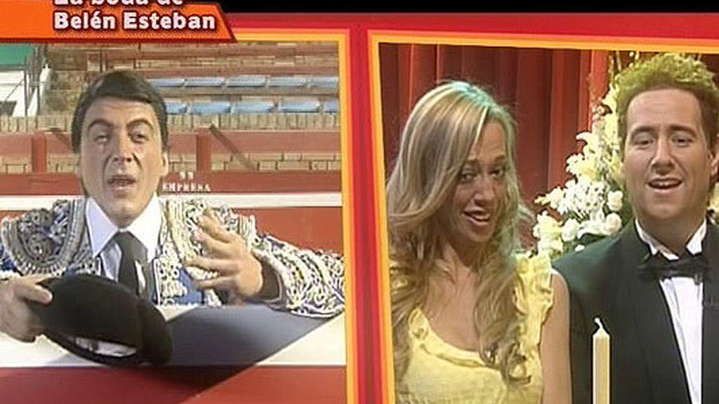 Belén Esteban se casa en 'Réplica'