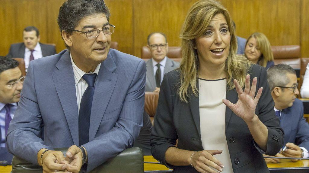 Susana Díaz, elegida nueva presidenta de la Junta de Andalucía