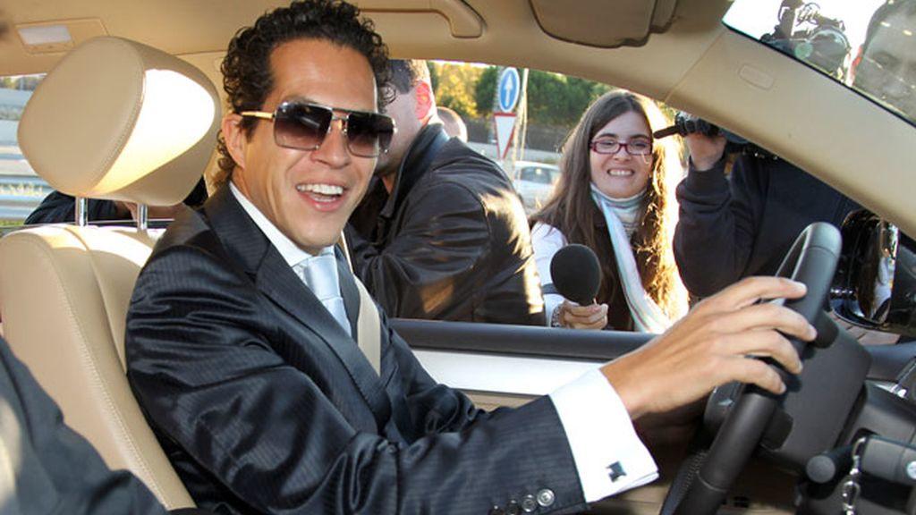 La boda de Antonio Morales: familiar, pero sin su padre