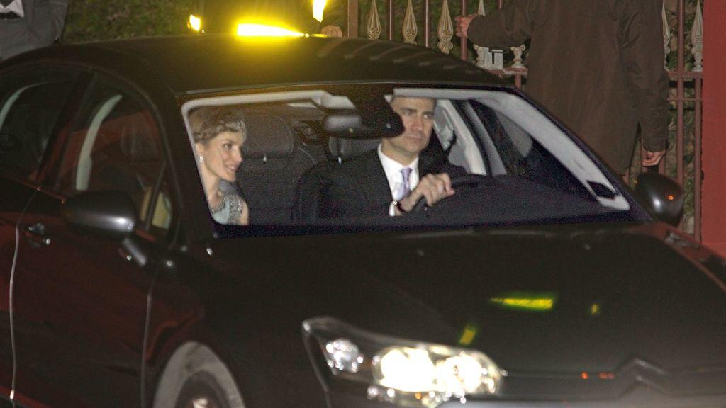 Los príncipes de Asturias, Felipe y Letizia