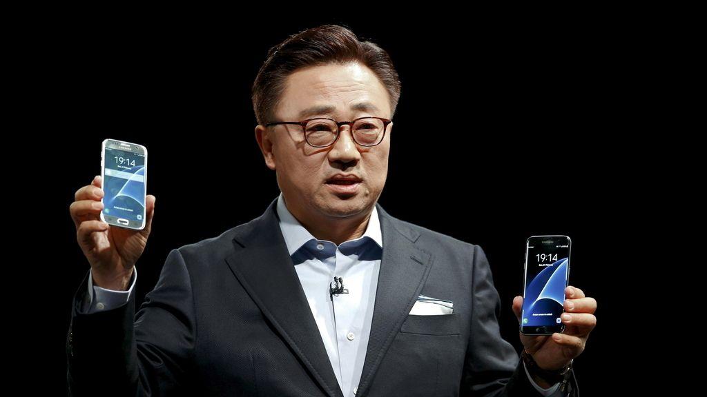 Samsung S7 en el Congreso Mundial de Móviles 2016 de Barcelona