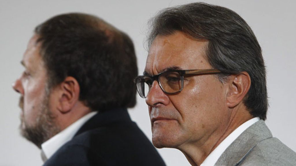 Artur Mas, Oriol Junqueras