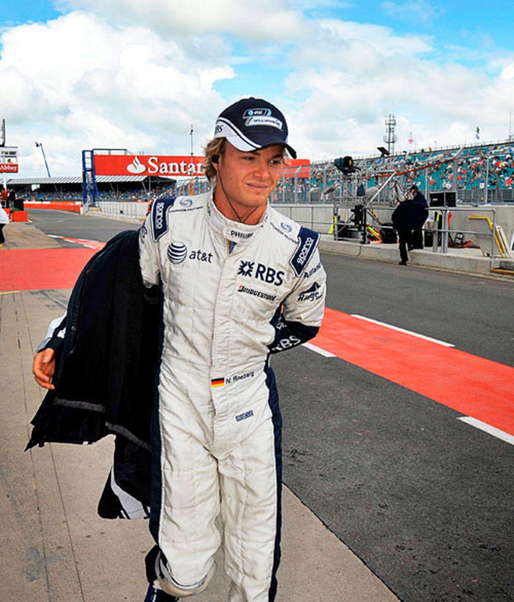 Rosberg en la tercera sesión de entrenamientos
