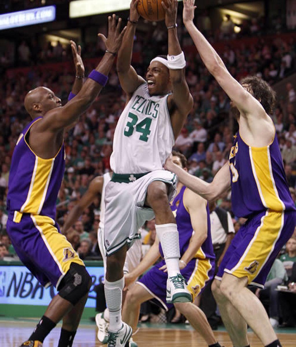 Los Celtics, a una victoria de proclamarse campeones