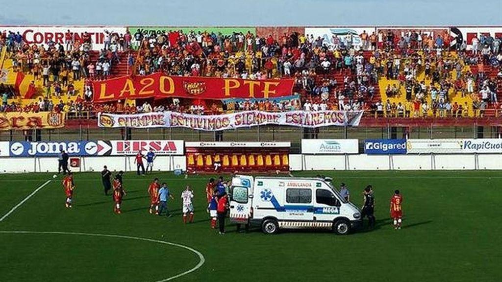 Muere un jugador de 27 años tras desplomarse durante un partido en Argentina