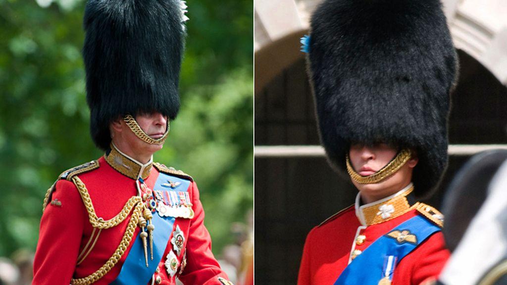 La curiosa mutación de Guillermo de Inglaterra en su padre