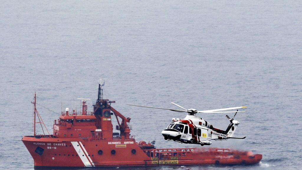 Rescatado el cuerpo de otro marinero del Santa Ana