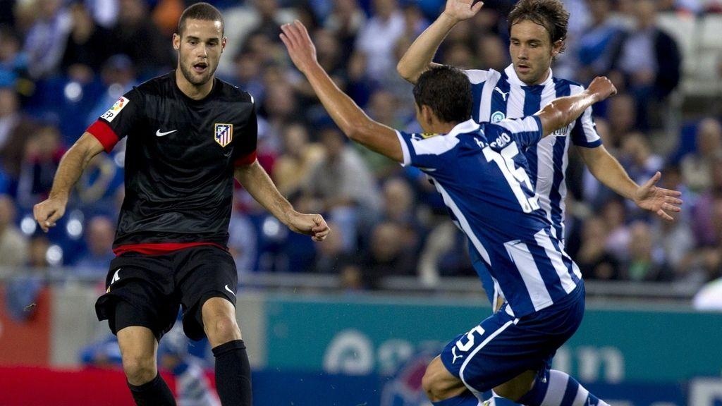 El Atlético de Madrid vence al Espanyol en Cornellá. Foto: EFE
