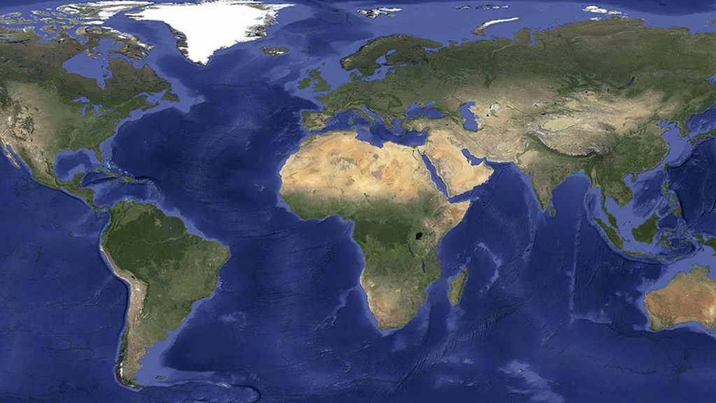 Google Earth y Maps, sin nubes