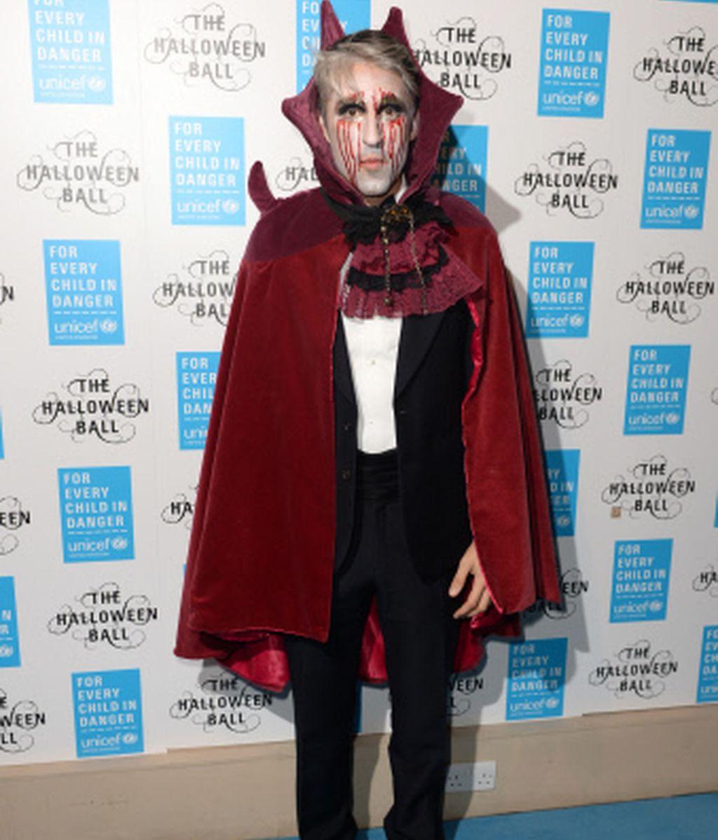 George Lamb, un espeluznante vampiro