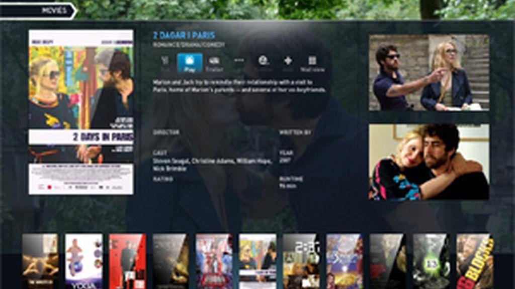 Voddler ofrece películas en streaming, gratis y legalmente.