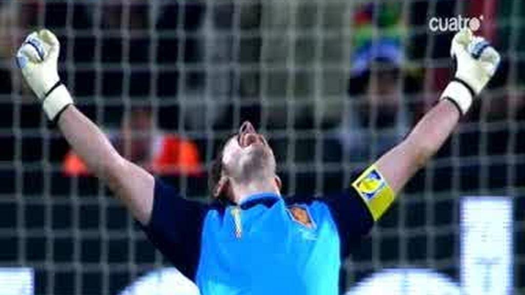 Casillas, buque insingnia de la selección española