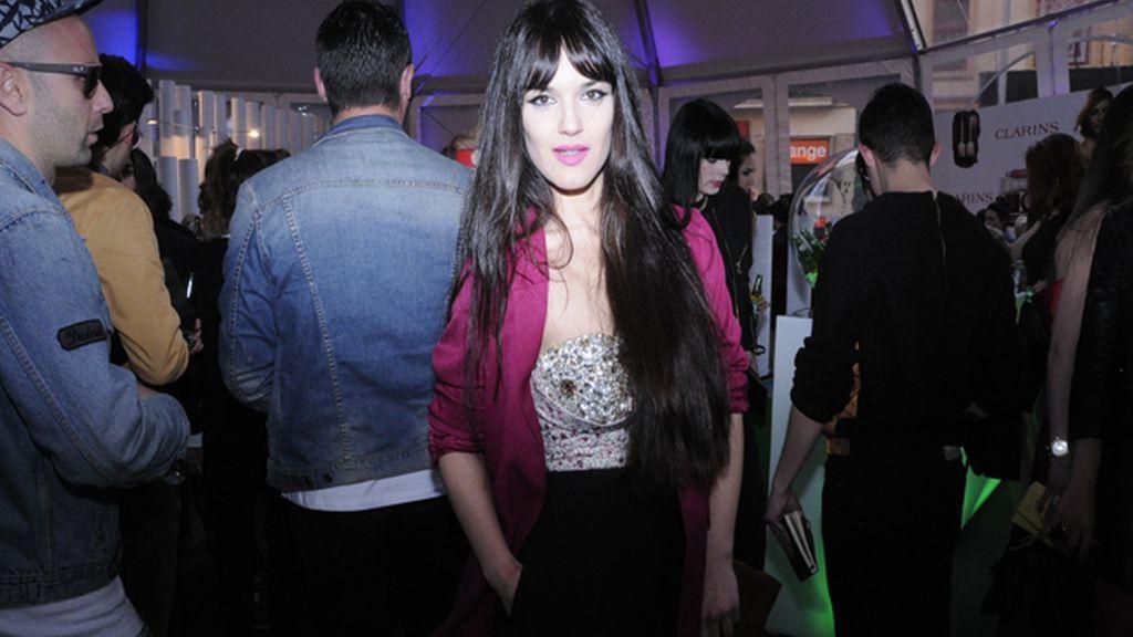 Sara Vega, como siempre, una de las invitadas más espectaculares de la noche