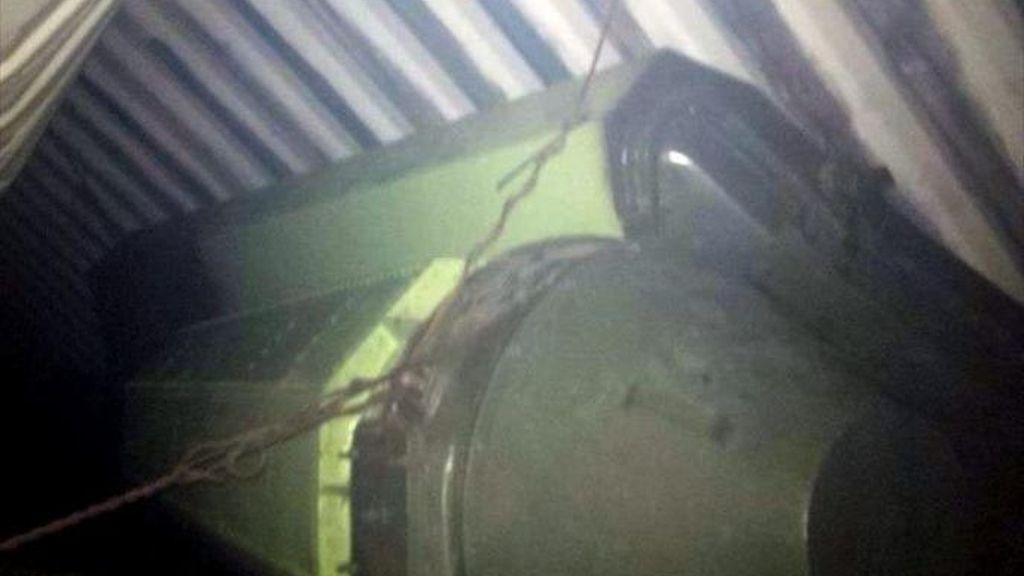 Armamento bélico en el barco norcoreano retenido en Panamá