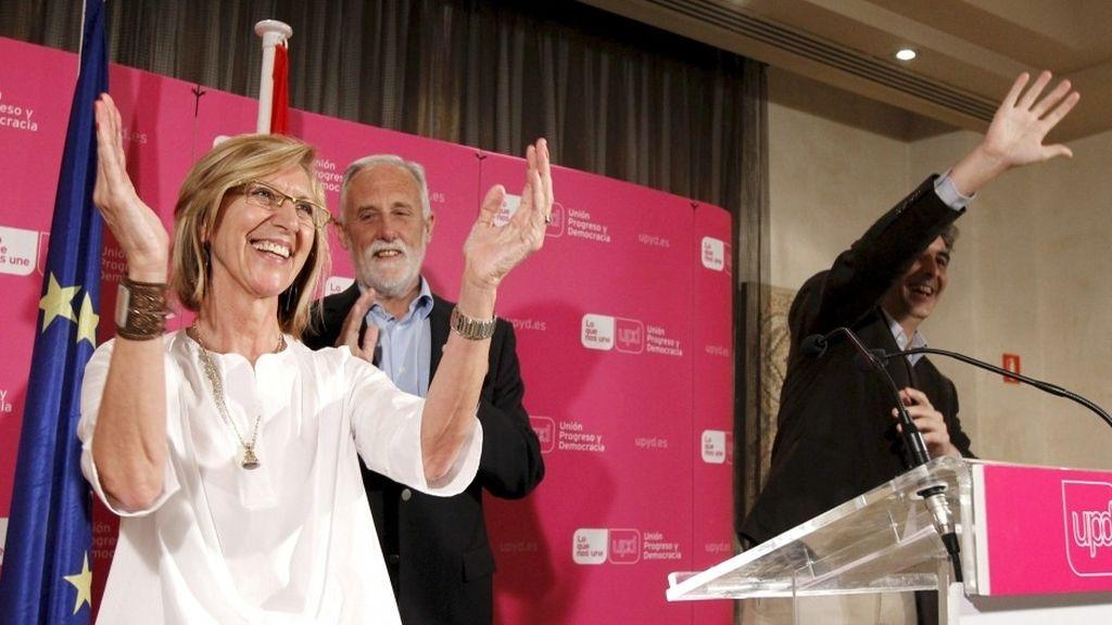 Rosa Díez, Luis de Velasco, UPyD
