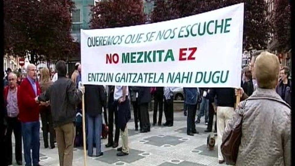 No quieren una mezquita en Basurto
