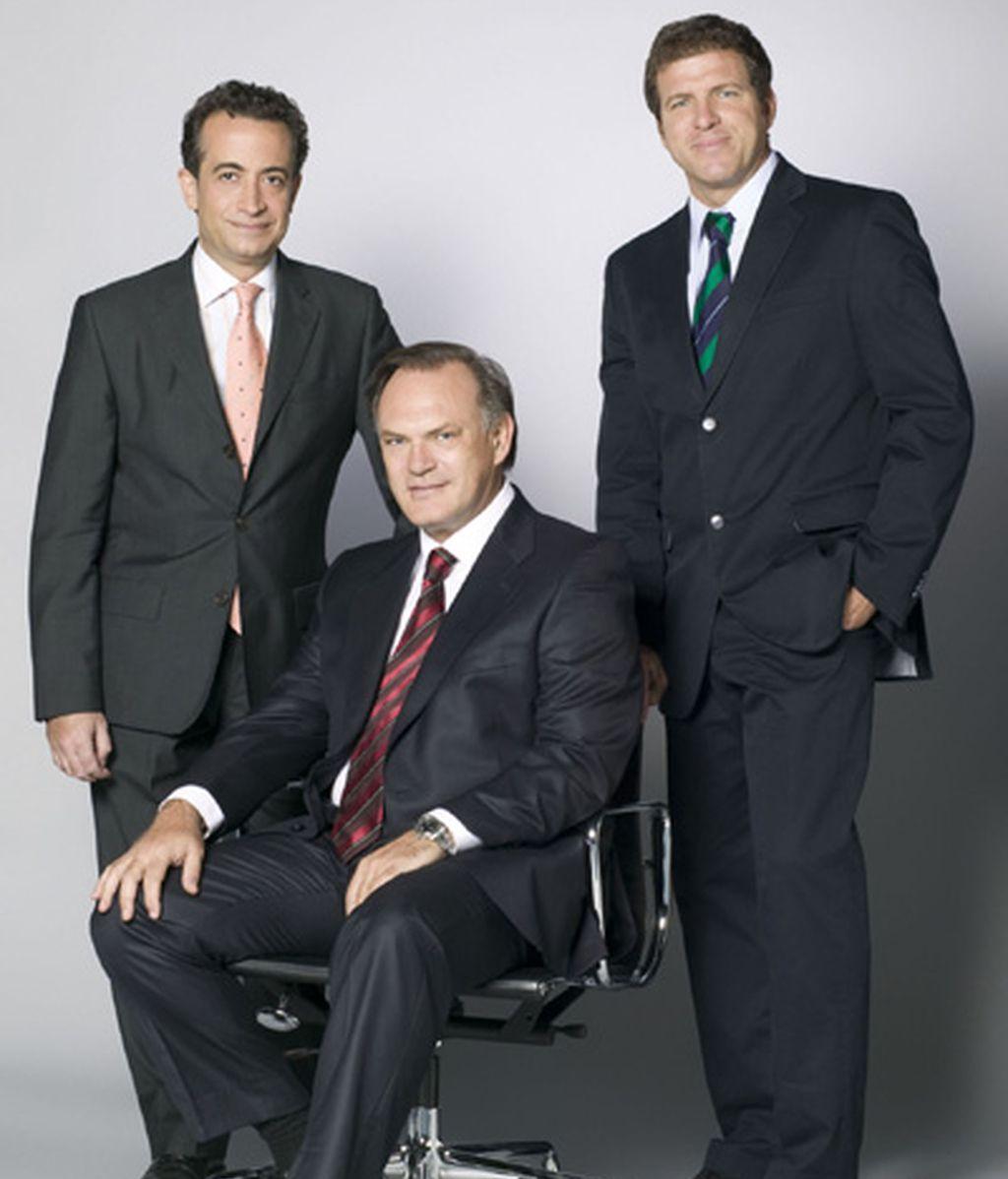 J.J. Santos, Pedro Piqueras y Mario Picazo