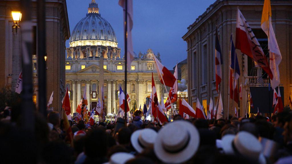 Canonización de Juan Pablo II y Juan XXIII
