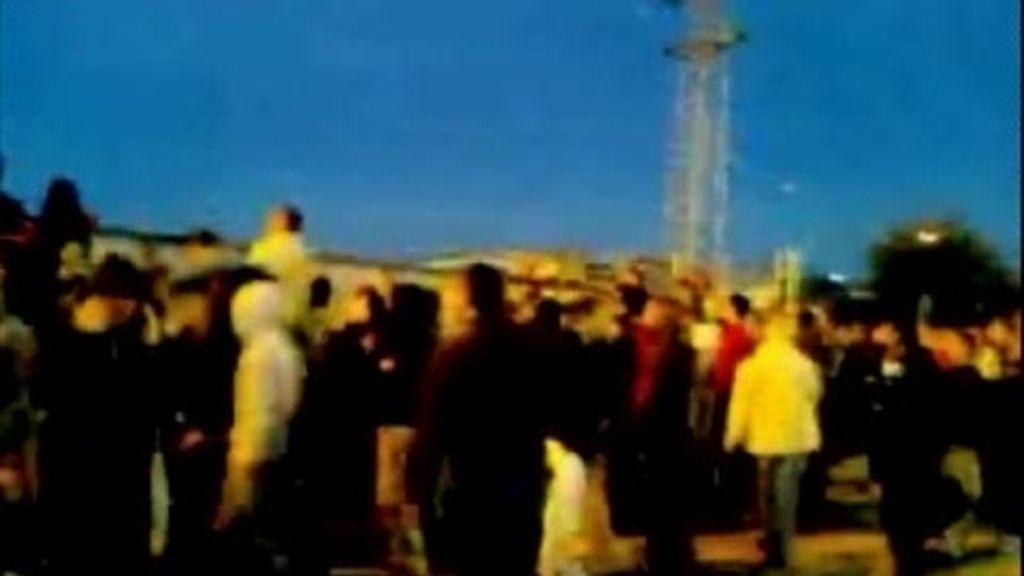 Las imágenes de los disparon en Getafe el 29-S