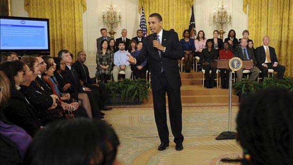 Obama: 'Abierto a las preguntas'