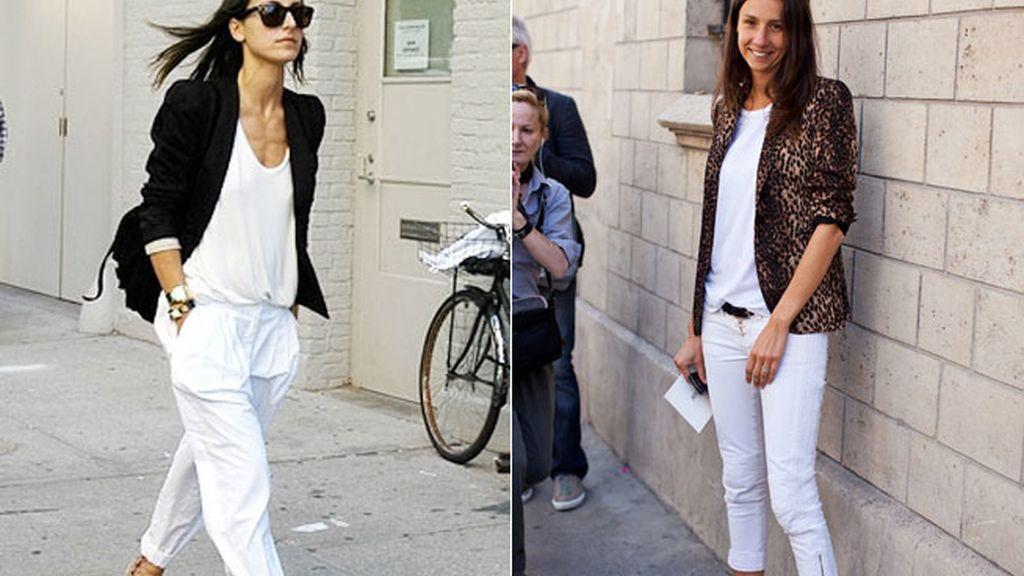 Pantalones blancos: instrucciones de uso para que dejen de