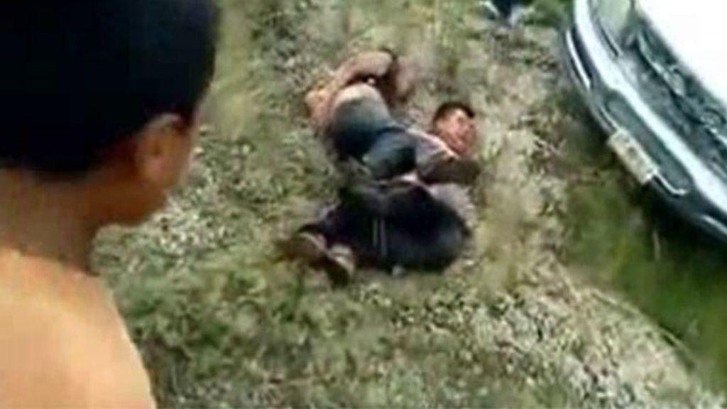 Vídeo de linchamiento en México