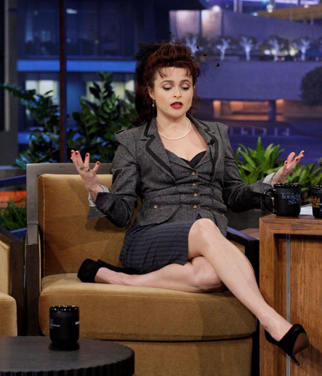 Helena Bonham Carter no decepciona: Oscar a la originalidad