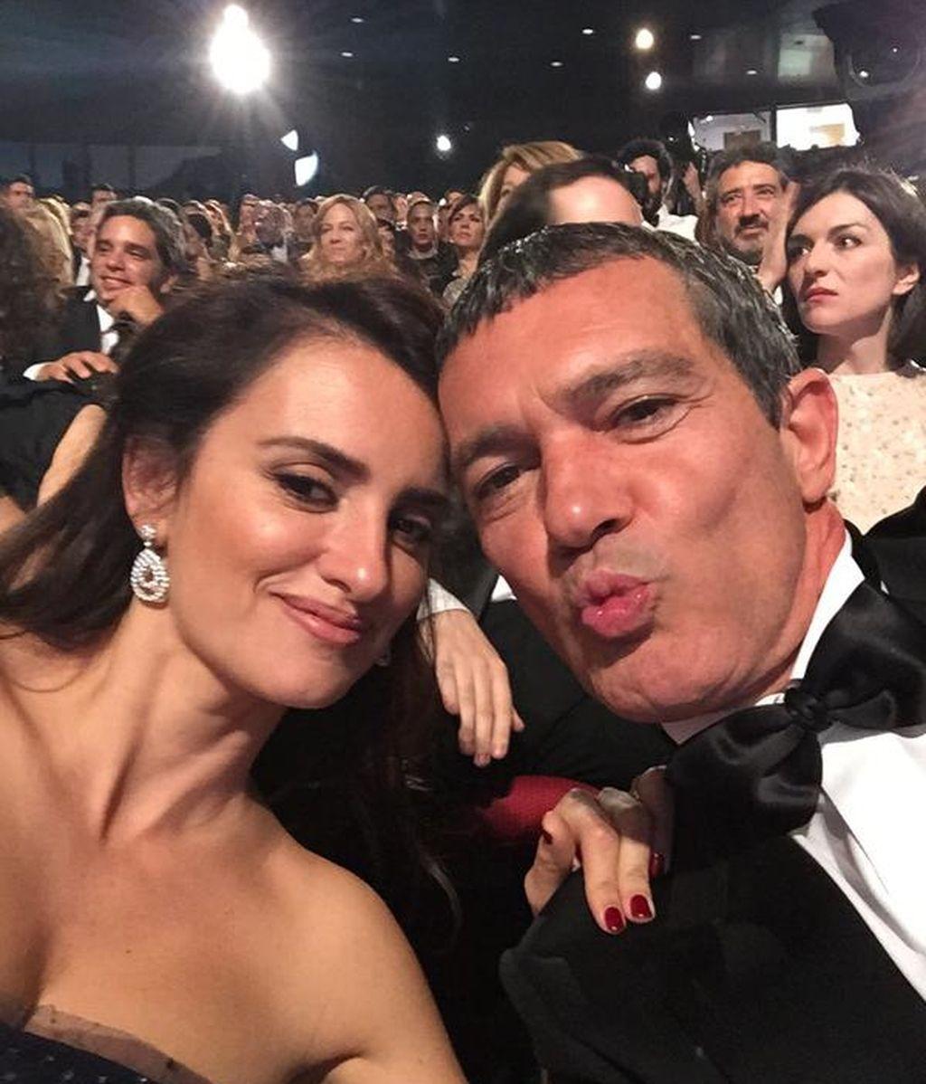 Penélope Cruz y Antonio Banderas
