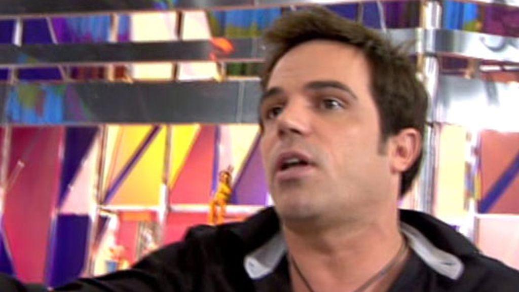 Jorge Javier expulsa a Gerardo Prager del plató de 'Sálvame Deluxe'