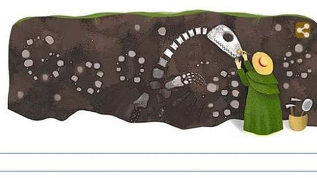doodle, Google, paleontóloga inglesa Mary Anning