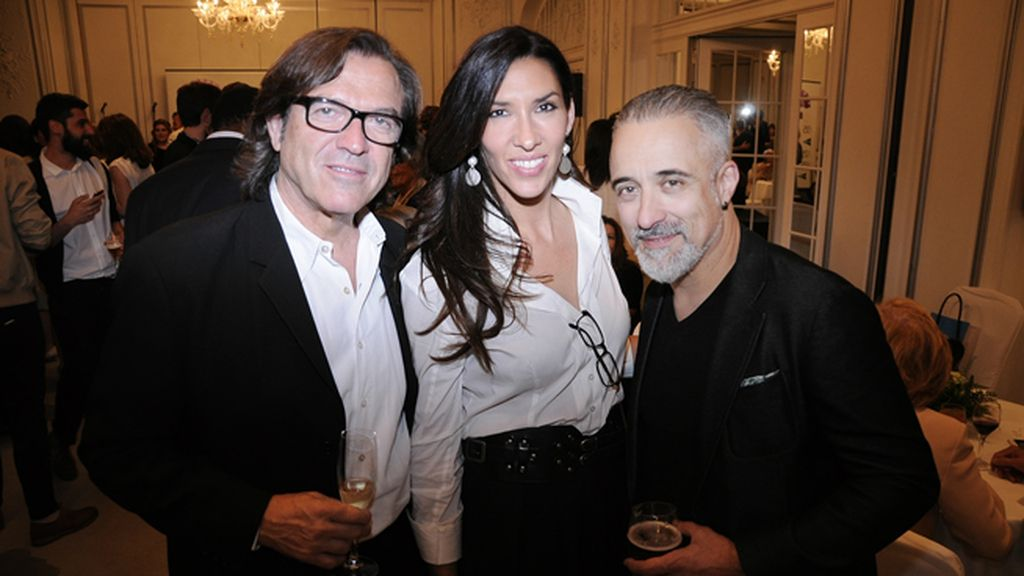 Pepe Navarro, Lorena Aznar y Sergi Arola